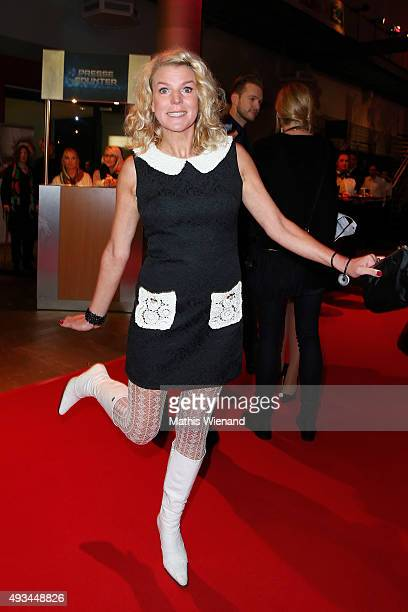 Mirja Boes attends the 19th Annual German Comedy Awards at Coloneum on October 20 2015 in Cologne Germany