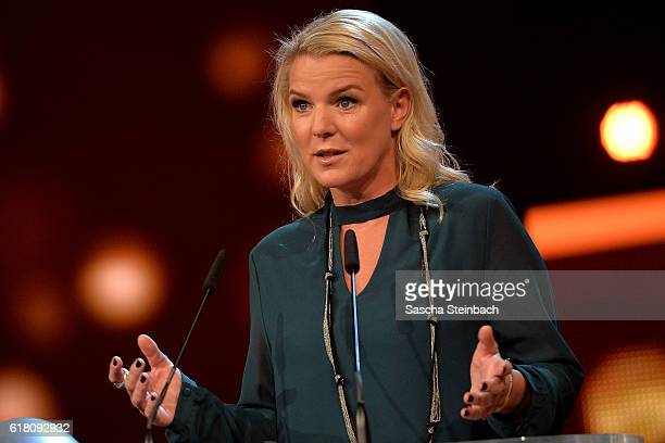 Mirja Boes attends the 20th Annual German Comedy Awards at Coloneum on October 25 2016 in Cologne Germany