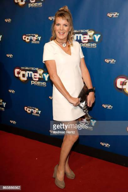 Mirja Boes attends the 21st Annual German Comedy Awards at Studio in Koeln Muehlheim on October 24 2017 in Cologne Germany