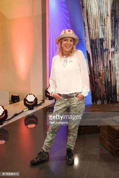 Mirja Boes attends the 22nd RTL Telethon on November 23 2017 in Huerth Germany