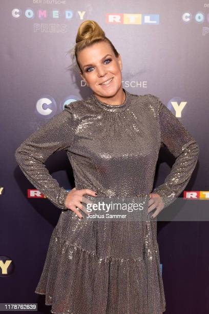 Mirja Boes attends the 23rd annual German Comedy Awards at Studio in Köln Mühlheim on October 02 2019 in Cologne Germany