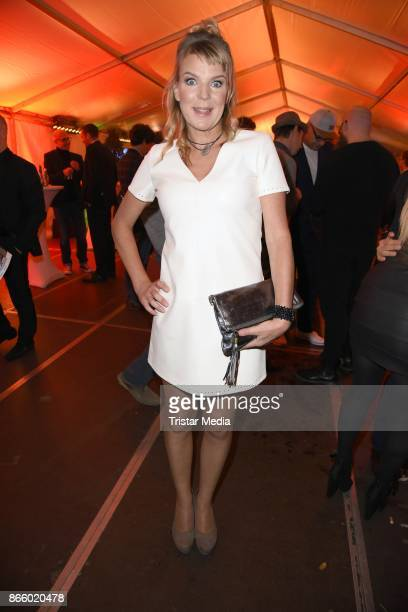 Mirja Boes attends the German Comedy Awards at Studio in Koeln Muehlheim on October 24 2017 in Cologne Germany