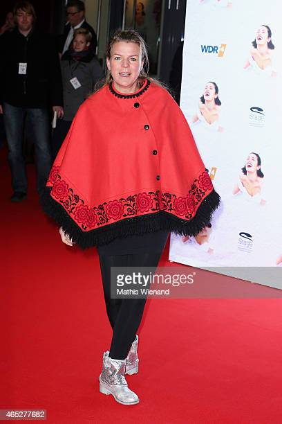 Mirja Boes attends the 'Mamma Mia' Musical Premiere at the Stage Metronom Theater on March 5 2015 in Oberhausen Germany