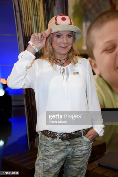 Mirja Boes attends the RTL Telethon 2017 on November 23 2017 in Huerth Germany