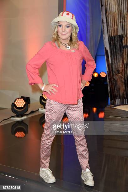 Mirja Boes attends the RTL Telethon 2017 on November 24 2017 in Huerth Germany