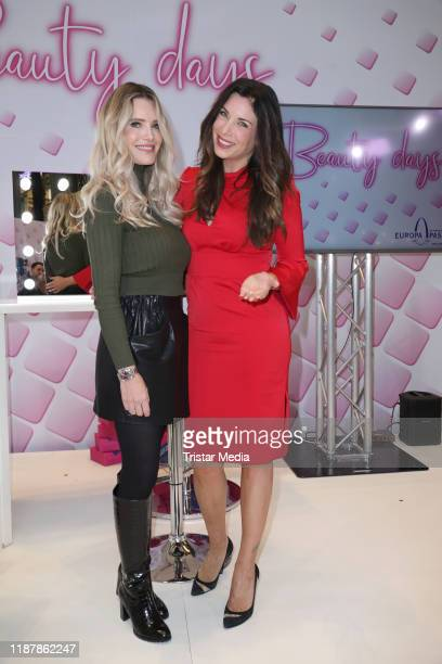 Mirja Du Mont and Alexandra Polzin during the Beauty Days on November 14 2019 in Hamburg Germany