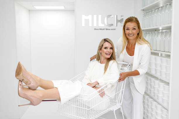 """DEU: """"Initiative Milch"""" At Supercandy Pop-Up Museum Cologne"""