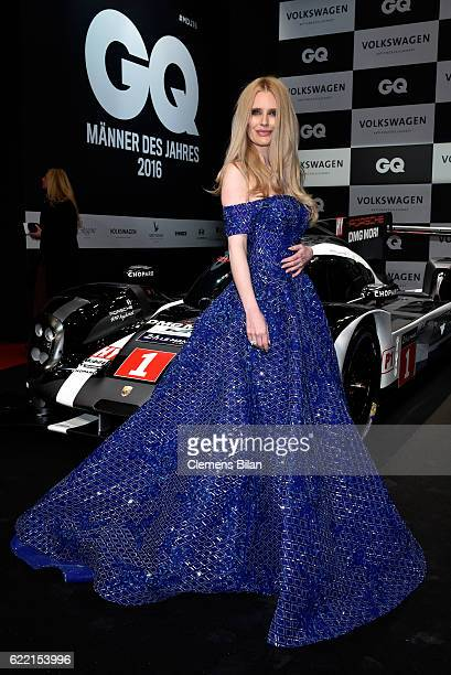 Mirja Du Mont arrives at the GQ Men of the year Award 2016 at Komische Oper on November 10 2016 in Berlin Germany