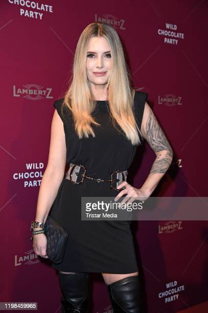 Mirja du Mont attends the red carpet arrival at Lambertz Monday Night Party 2020 at Alter Wartesaal on February 3, 2020 in Cologne, Germany.