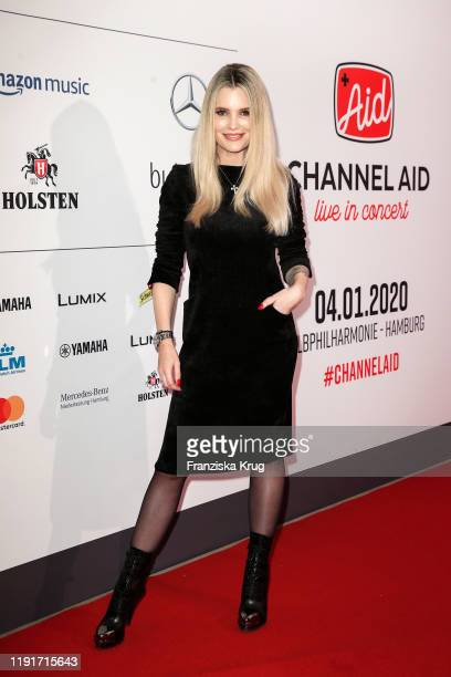Mirja du Mont during the Channel Aid Live in concert at Elbphilharmonie on January 4 2020 in Hamburg Germany