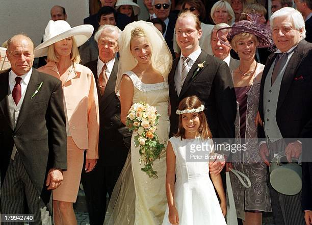 Mirja Sachs Sohn und Brätuigam Gunnar Sachs Ehefrau Tania Marsh RoyaSachs Elisabeth Marsh Gunter Sachs Hochzeitvon Gunnar Sachs Tania...