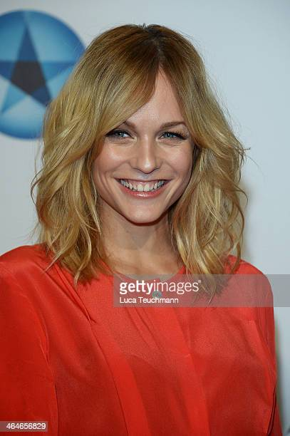 Mirjam Weichselbraun attends the Mira Award 2014 at Station on January 23, 2014 in Berlin, Germany.