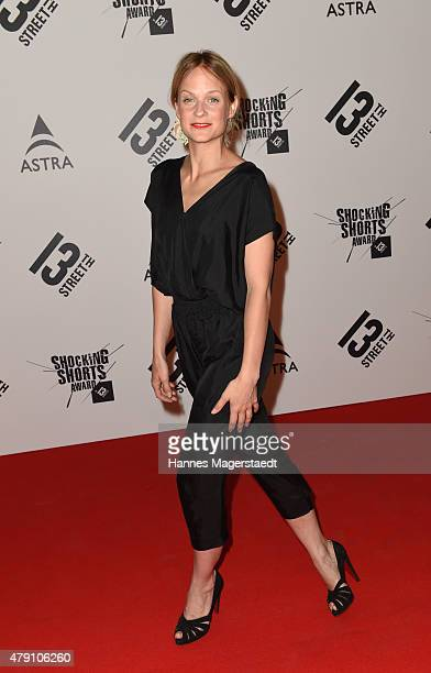 Mirjam Weichselbraun attends the Shocking Shorts Award 2015 during the Munich Film Festival on June 30, 2015 in Munich, Germany.