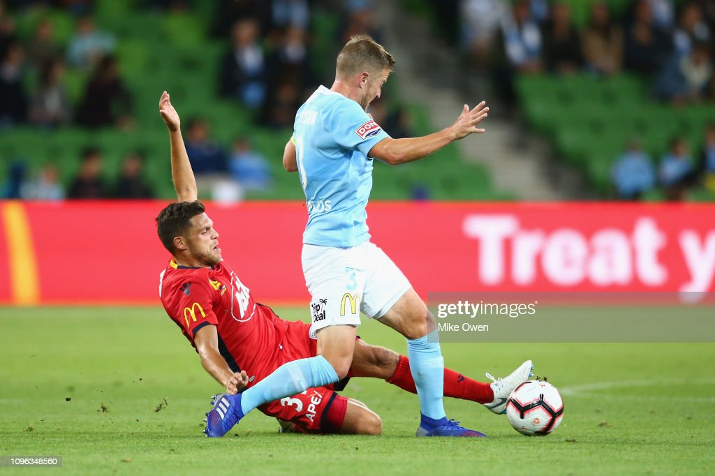 A-League Rd 18 - Melbourne v Adelaide : News Photo