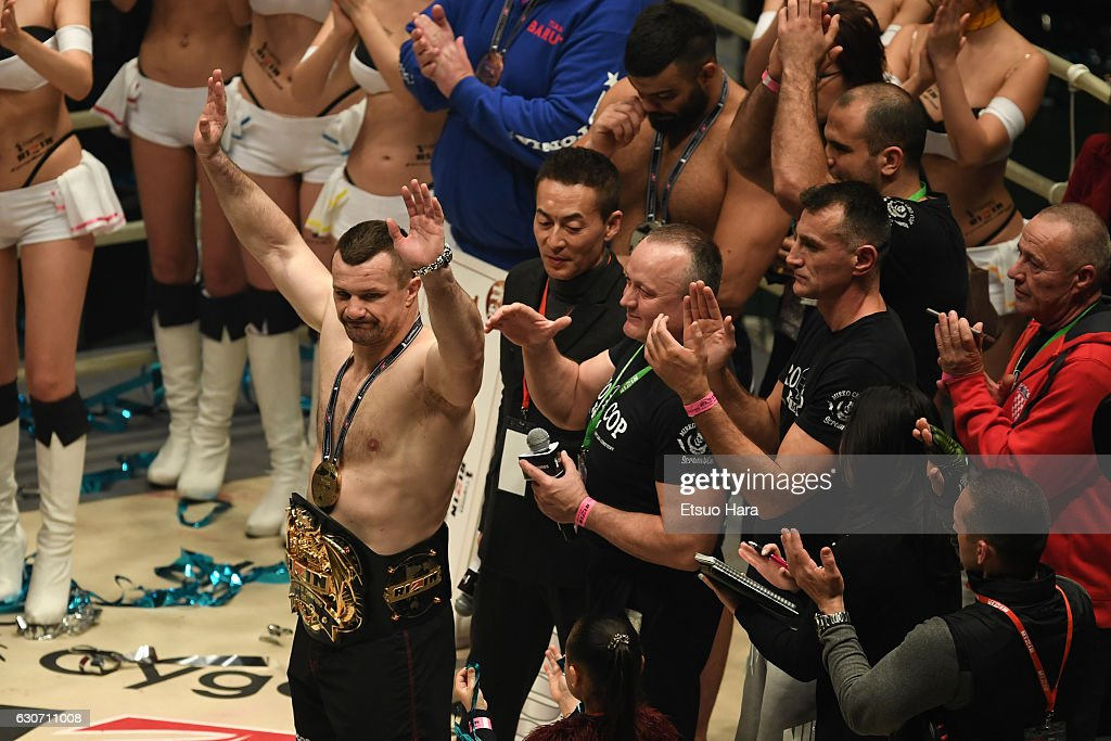 RIZIN Fighting World GP 2016 - Final Round : News Photo