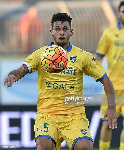 Mirko Gori of Frosinone in action during the Serie A match between Frosinone Calcio and Genoa CFC at Stadio Matusa on November 8 2015 in Frosinone...