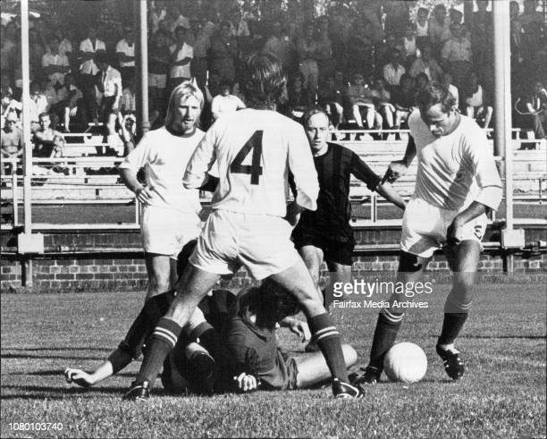 Mirko Susa Soccer Ampol Cup at Wentworth ParkAPIA Leichhardt Vs Croatia South Sydney February 04 1973