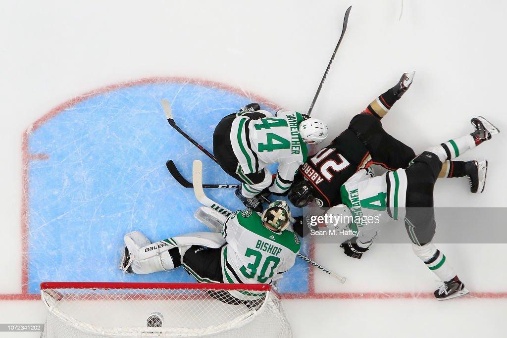 Dallas Stars v Anaheim Ducks : Nachrichtenfoto