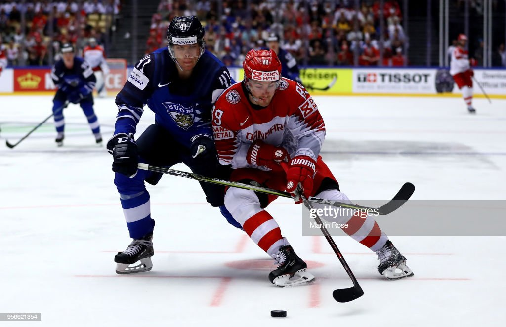 Finland v Denmark - 2018 IIHF Ice Hockey World Championship