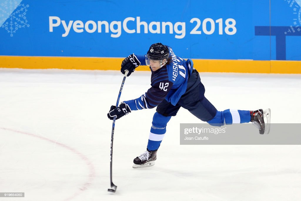 Ice Hockey - Winter Olympics Day 7 - Finland v Norway : News Photo