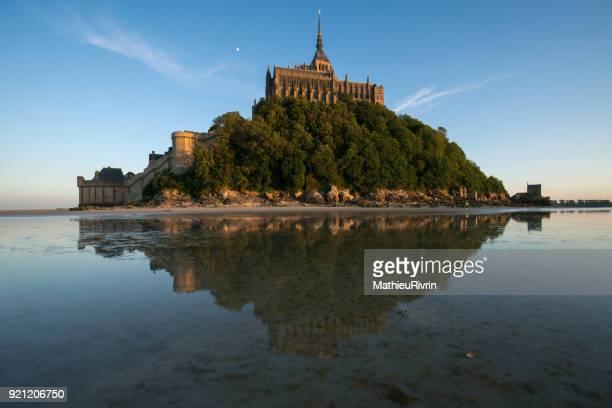 Miroir d'eau au Mont Saint-Michel
