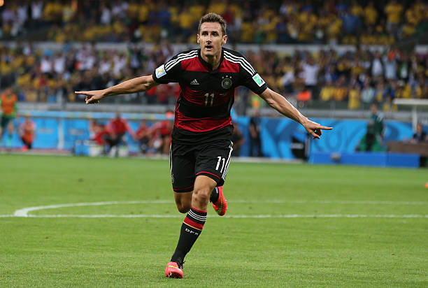 BRA: Miroslav Klose Breaks Finals Goals Record - 2014 FIFA World Cup Brazil