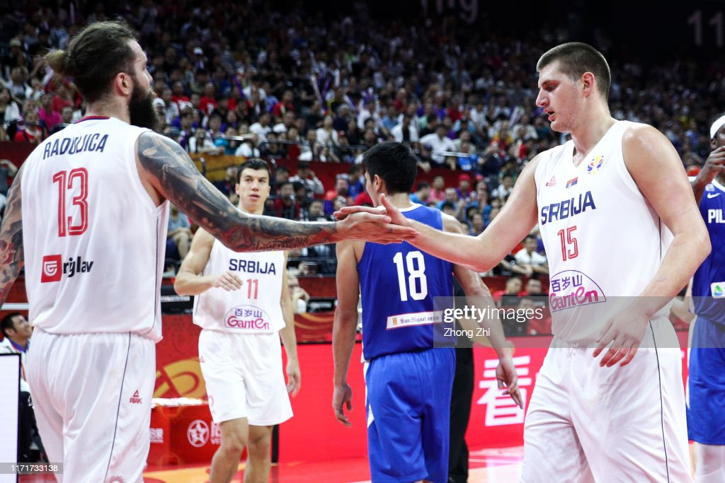 Serbia v Philippines: Group D - FIBA World Cup 2019 : News Photo