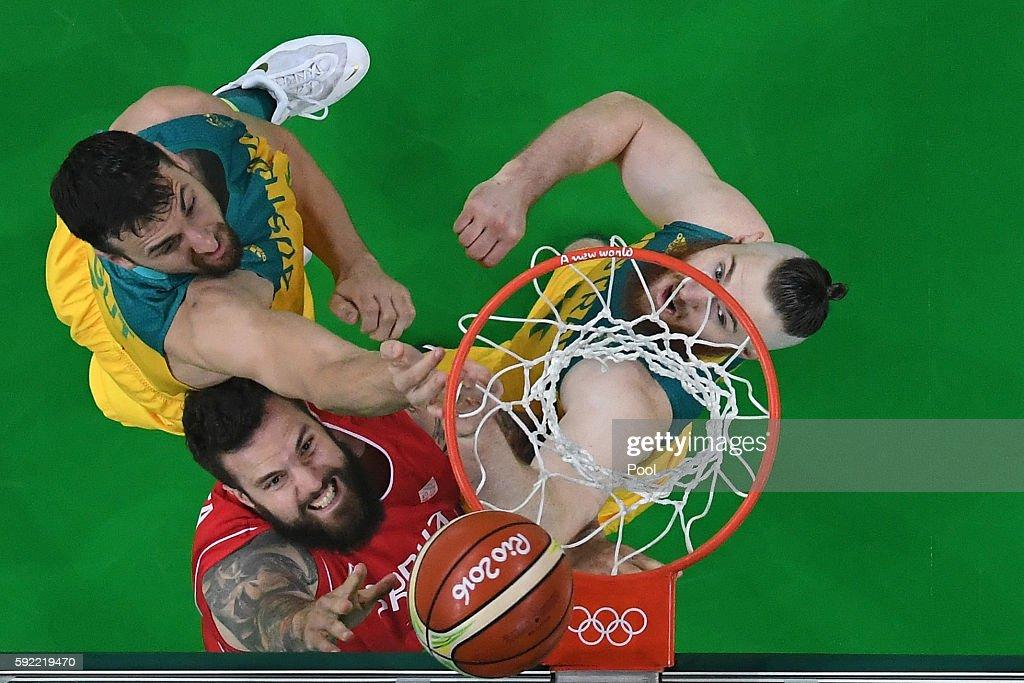 Basketball - Olympics: Day 14 : Foto di attualità