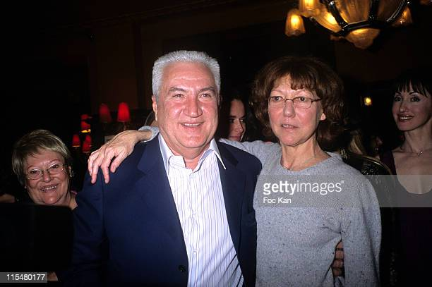 Miroslav Seljigovic and Anne Wiazemski during 2007 Literary Awards Ceremony Cocktail Party at Closerie des Lilas Restaurant at Closerie des Lilas...