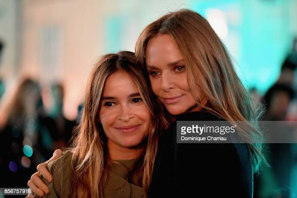 Miroslava Duma and Stella McCartney host the Fashion Tech Lab Launch Event Hosted By Miroslova Duma And Stella McCartney as part of Paris Fashion...