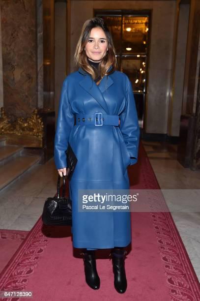 Miroslava Duma attends the Balmain show as part of the Paris Fashion Week Womenswear Fall/Winter 2017/2018 on March 2 2017 in Paris France