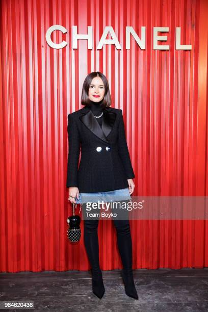 Miroslava Duma attends the Chanel Replica Show In Moscow Metiers D'Art Paris Hamburg 201718 on May 31 2018 in Moscow Russia