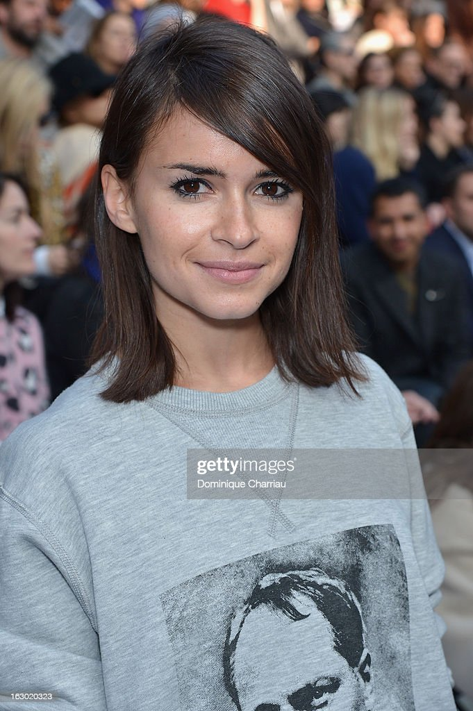 Miroslava Duma attends the Chloe Fall/Winter 2013 Ready-to-Wear show as part of Paris Fashion Week on March 3, 2013 in Paris, France.