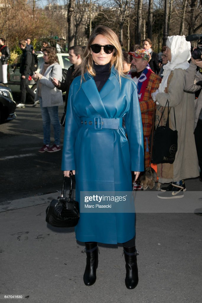 Miroslava Duma attends the Chloe show as part of the Paris Fashion Week Womenswear Fall/Winter 2017/2018 on March 2, 2017 in Paris, France.