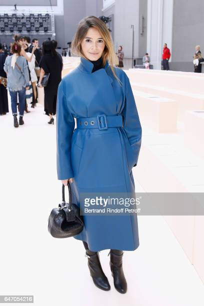Miroslava Duma attends the Chloe show as part of the Paris Fashion Week Womenswear Fall/Winter 2017/2018 on March 2 2017 in Paris France