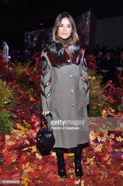 Miroslava Duma attends the Moncler Gamme Rouge show as part of the Paris Fashion Week Womenswear Fall/Winter 2017/2018 on March 7 2017 in Paris France