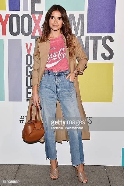 Miroslava Duma attends The Next Talents party during Milan Fashion Week Fall/Winter 2016/17 on February 24 2016 in Milan Italy