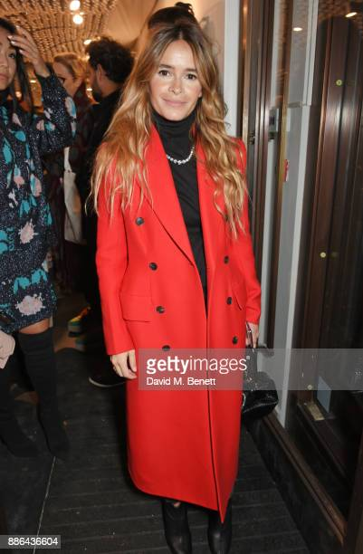 Miroslava Duma attends the opening of the BOTTLETOP flagship store on Regent Street on December 5 2017 in London England