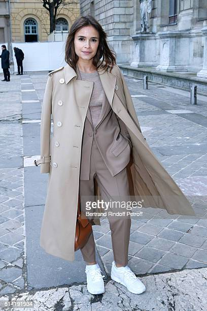Miroslava Duma attends the Sonia Rykiel show as part of the Paris Fashion Week Womenswear Fall/Winter 2016/2017 on March 7 2016 in Paris France