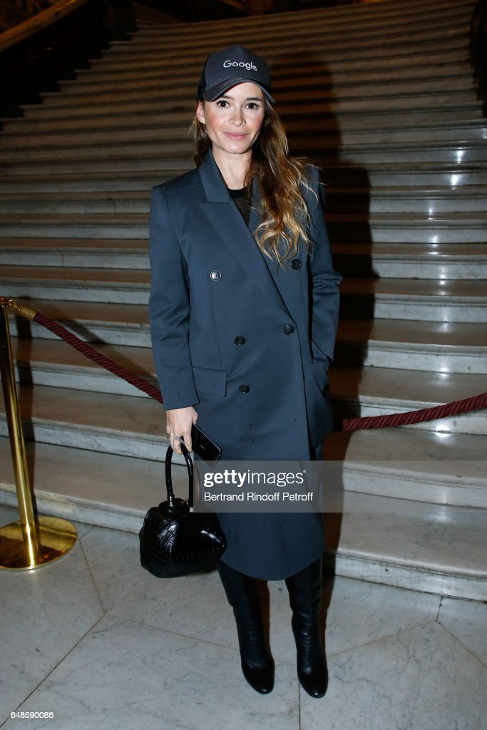Miroslava Duma attends the Stella McCartney show as part of the Paris Fashion Week Womenswear Fall/Winter 2017/2018 on March 6, 2017 in Paris, France.