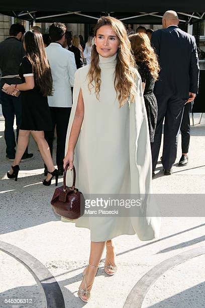 Miroslava Duma attends the Valentino Haute Couture Fall/Winter 20162017 show as part of Paris Fashion Week on July 6 2016 in Paris France