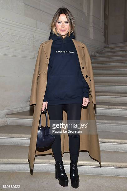 Miroslava Duma attends the Valentino Haute Couture Spring Summer 2017 show as part of Paris Fashion Week on January 25 2017 in Paris France