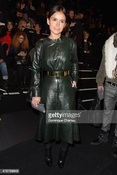 Miroslava Duma attends the ViktorRolf show as part of the Paris Fashion Week Womenswear Fall/Winter 20142015 on March 1 2014 in Paris France