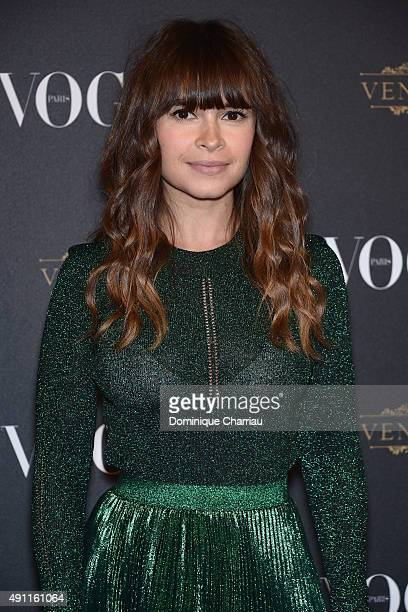 Miroslava Duma attends the Vogue 95th Anniversary Party Photocall as part of the Paris Fashion Week Womenswear Spring/Summer 2016 on October 3 2015...