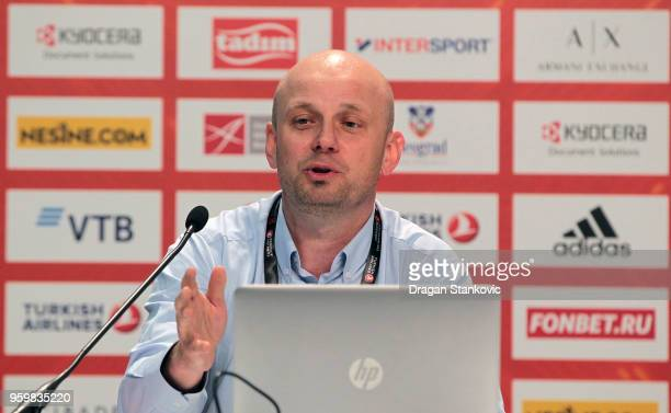 Miroslaw Krogulec Special Olympics Director Organisational Development Sport during the 2018 Turkish Airlines EuroLeague F4 Sports Business MBA at...