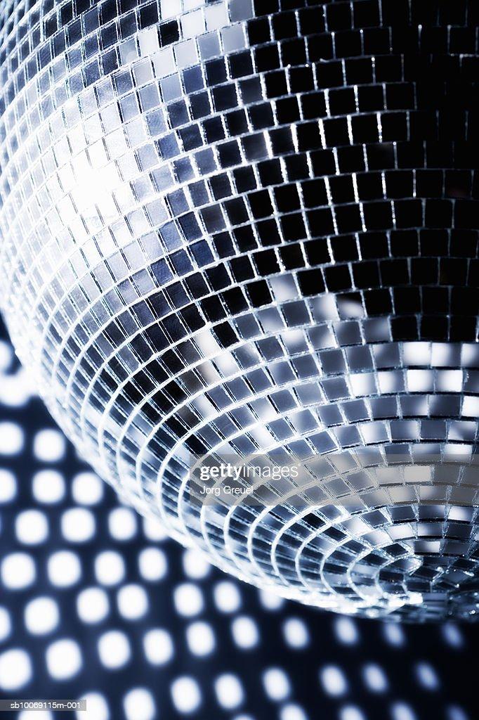 Mirror ball, close up : Stockfoto