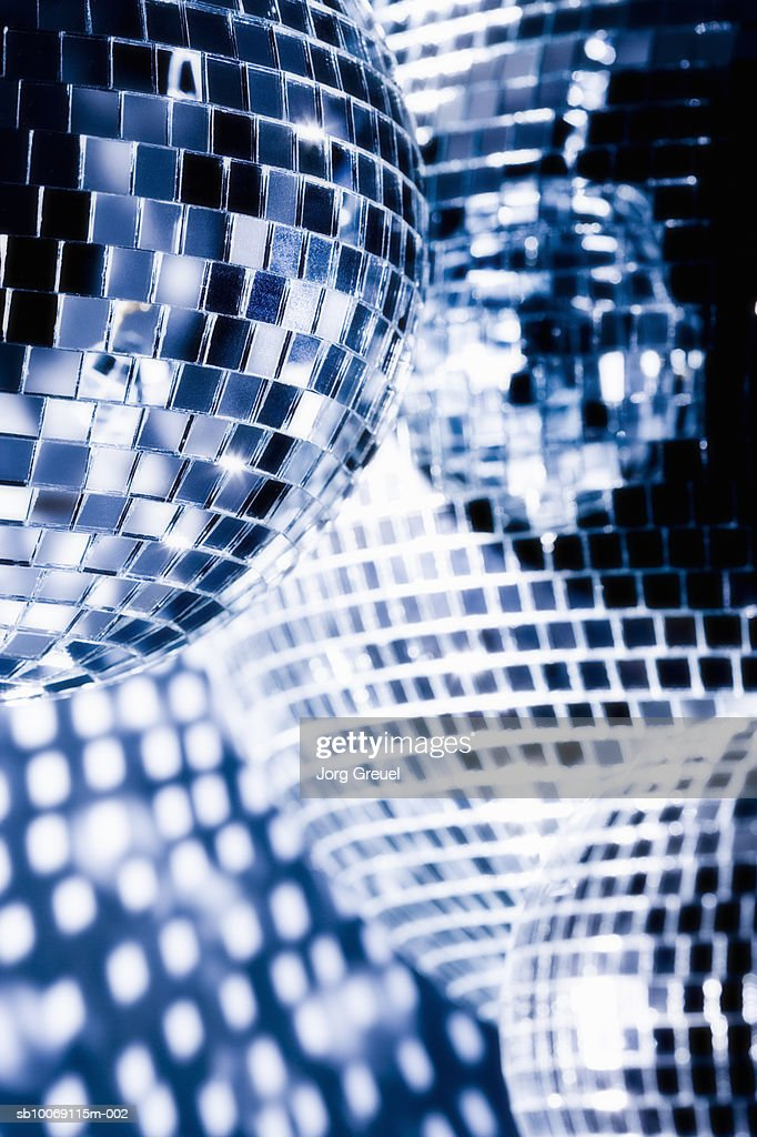Mirror balls, close up : Stockfoto