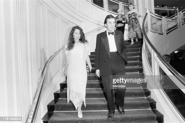 Mirror British Music Video Awards London Tuesday 6th October 1987 pictured Koo Stark at awards