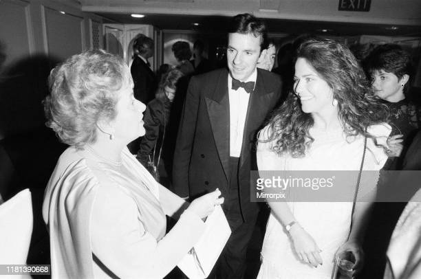 Mirror British Music Video Awards London Tuesday 6th October 1987 pictured Cynthia Payne English brothel keeper and party hostess whose life story...