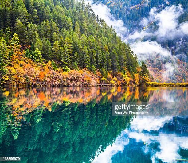 Mirror Lake, Jiuzhaigou National Park, China